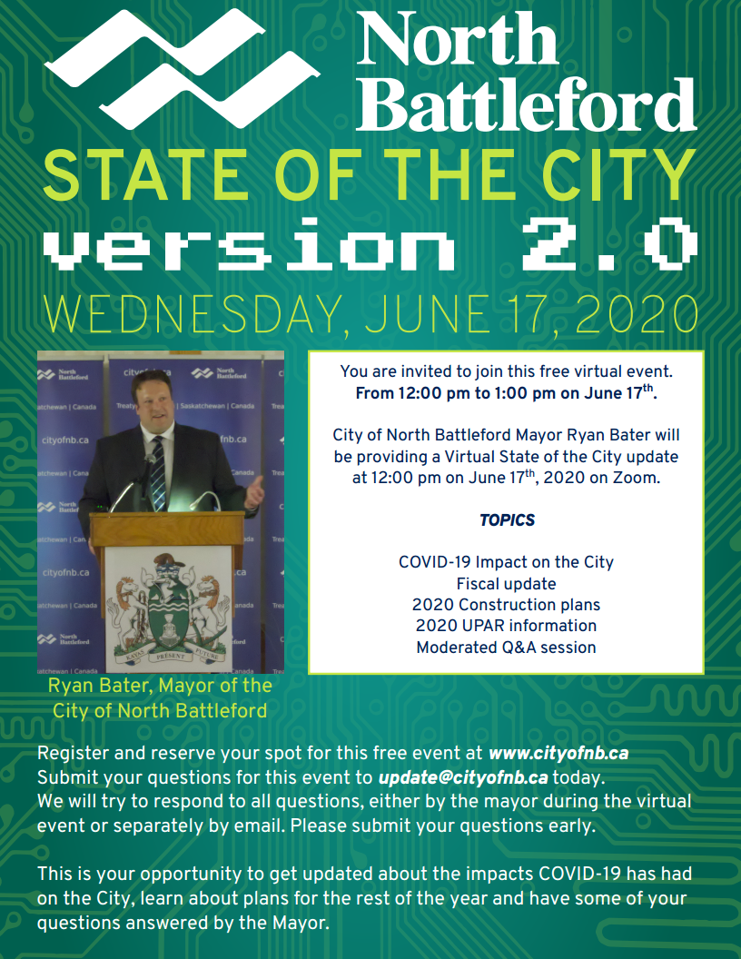 State of the City v2.0 Poster